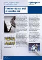 Solution: CobaSeal - the barrier seal solution for compressors