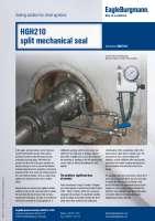 Solution: Split mechnical seal HGH210 for chest agitators